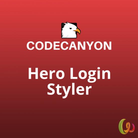 Hero Login Styler 1.3.0
