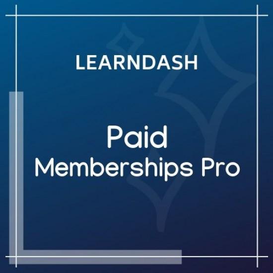 LearnDash LMS Paid Memberships Pro Integration