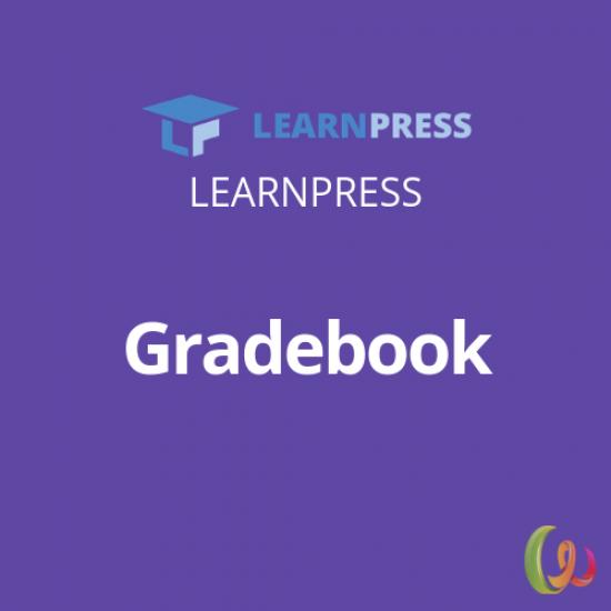 LearnPress Gradebook Add-on 3.0.10