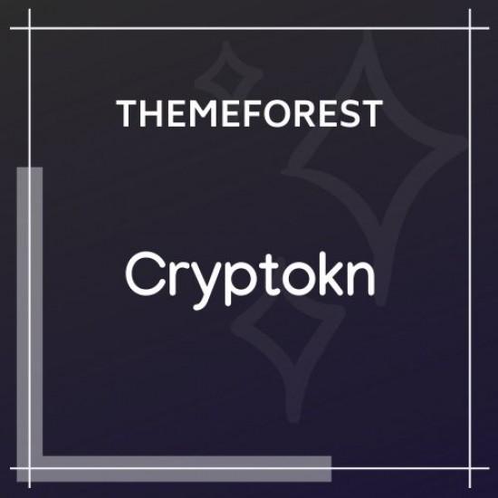 Cryptokn ICO Landing Page Cryptocurrency WordPress Theme