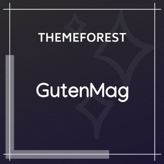 GutenMag Gutenberg Theme for Magazine and Blog 1.1.6