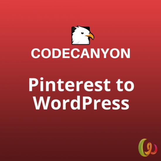 Pinterest to WordPress Plugin 1.1.0