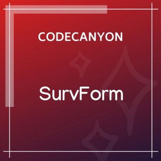 SurvForm Survey Form Builder Plugin 1.0.1