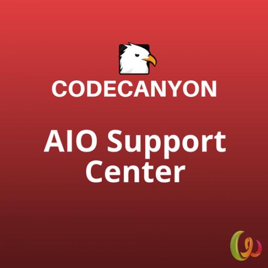 AIO Support Center WordPress Ticketing System