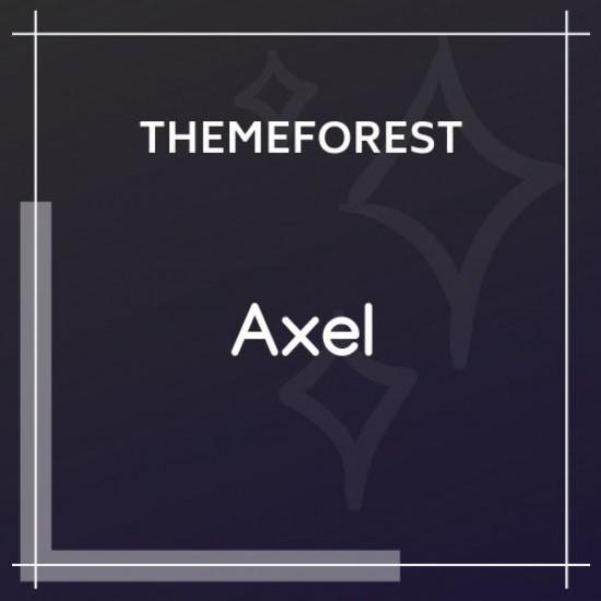 Axel Single Property Real Estate Theme