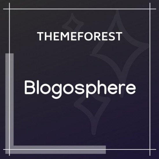Blogosphere Multipurpose Blogging Theme