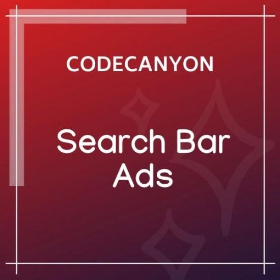 Search Bar Ads WooCommerce Plugin 1.0