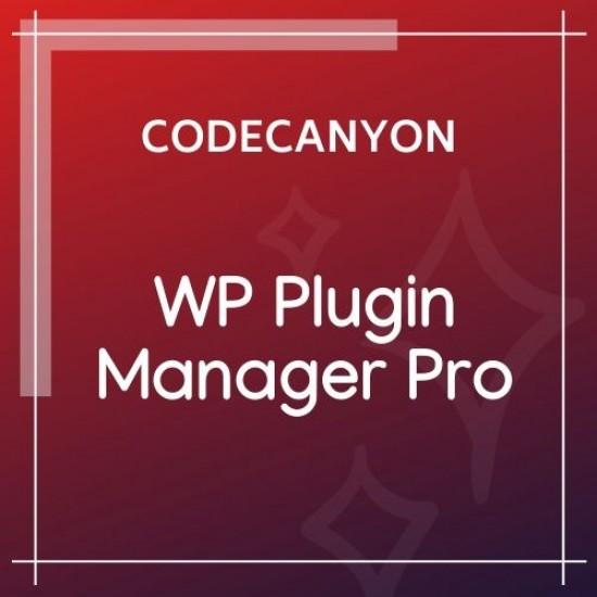 WP Plugin Manager Pro Deactivate Plugins Per Page