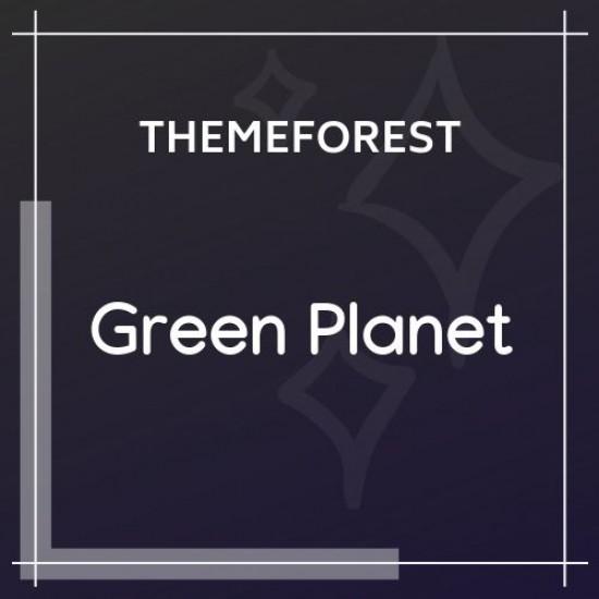 Ecology Environment WordPress Theme Green Planet 1.0.5