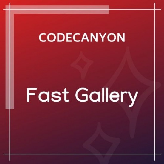 Fast Gallery Premium WordPress Plugin 1.3