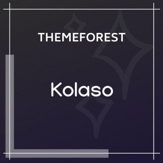 Kolaso Modern Multi-Purpose WordPress Theme 1.1.0