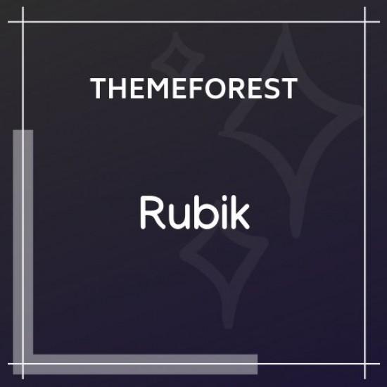 Rubik A Perfect Theme for Blog Magazine Website