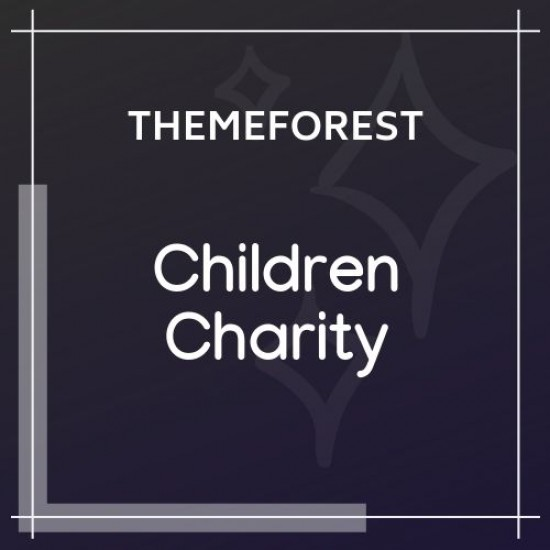 Children Charity Nonprofit NGO WordPress Theme