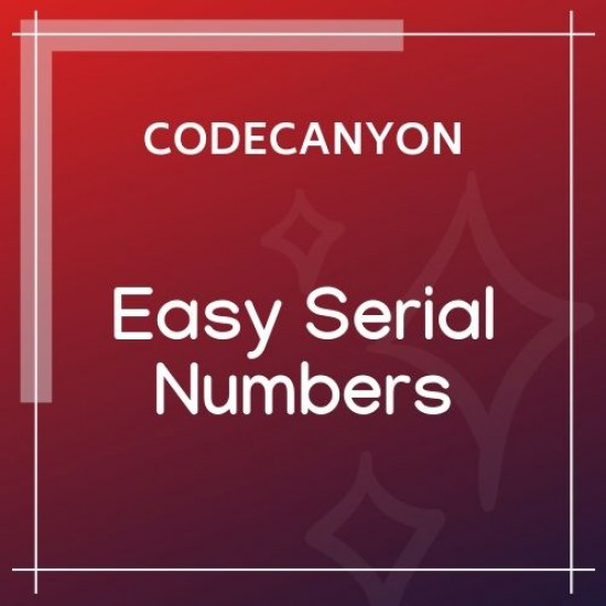 Easy Serial Numbers for WooCommerce