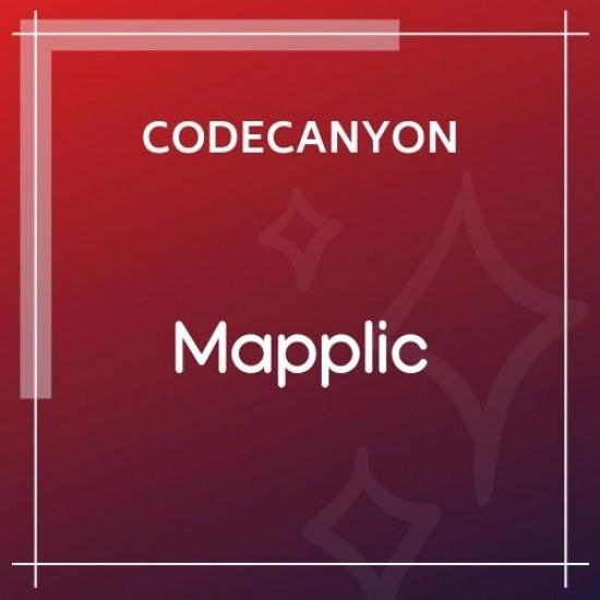 Mapplic Custom Interactive Map WordPress Plugin