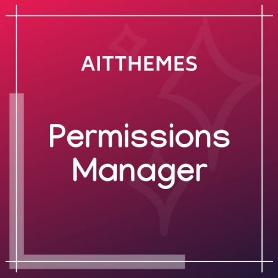 Permissions Manager WordPress Plugin
