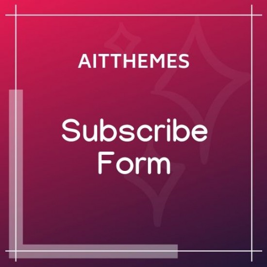 Subscribe Form WordPress Plugin
