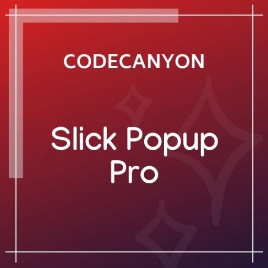 Slick Popup Pro 2.3.4