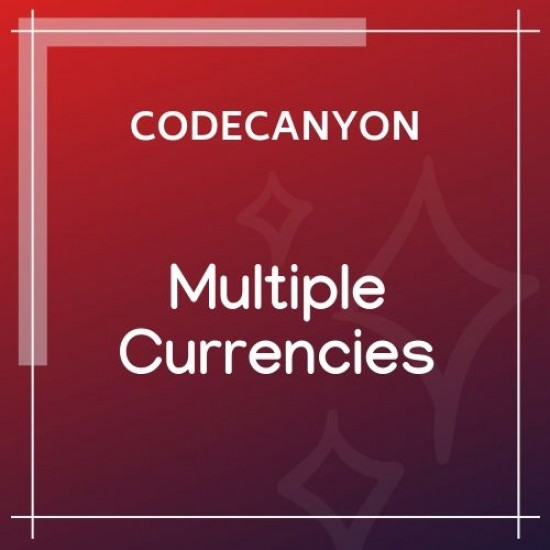 WooCommerce Multiple Currencies