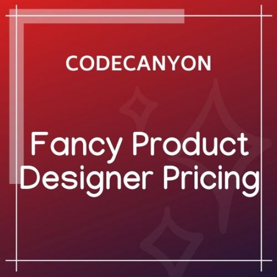 Fancy Product Designer Pricing Add-On
