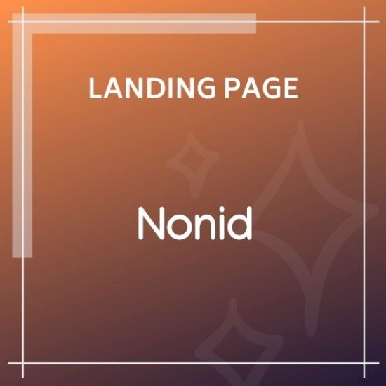 Nonid SEO Software Landing Page HTML Template