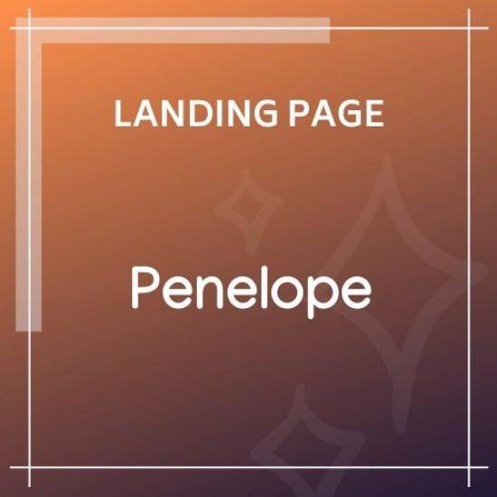 Penelope Responsive CV / Resume Template