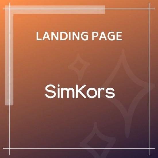 SimKors Creative Coming Soon Maintenance Mode Template