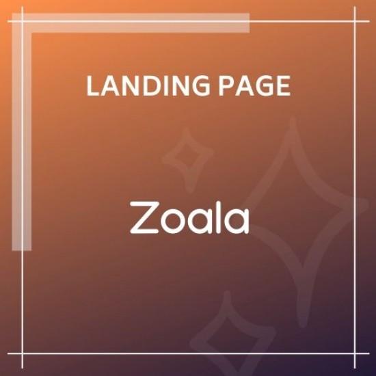 Zoala One Page HTML5 Template