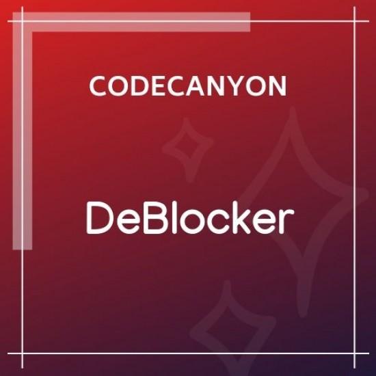 DeBlocker Anti AdBlock for WordPress 1.0.2