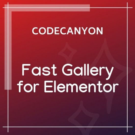 Fast Gallery for Elementor 1.0