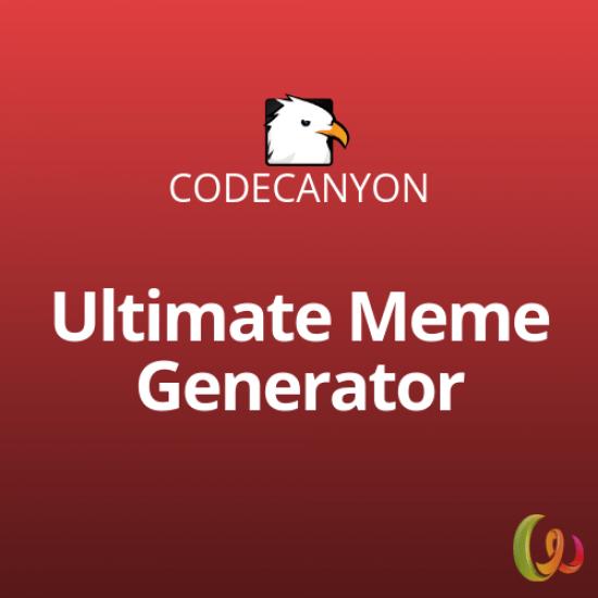Ultimate Meme Generator WordPress Plugin 1.0