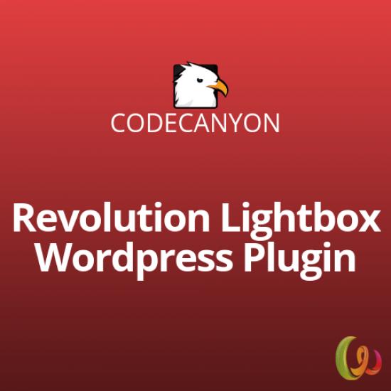 Revolution Lightbox WordPress Plugin 1.2
