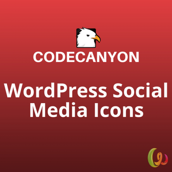 WordPress Social Media Icons Social Icons Plugin 1.1.1