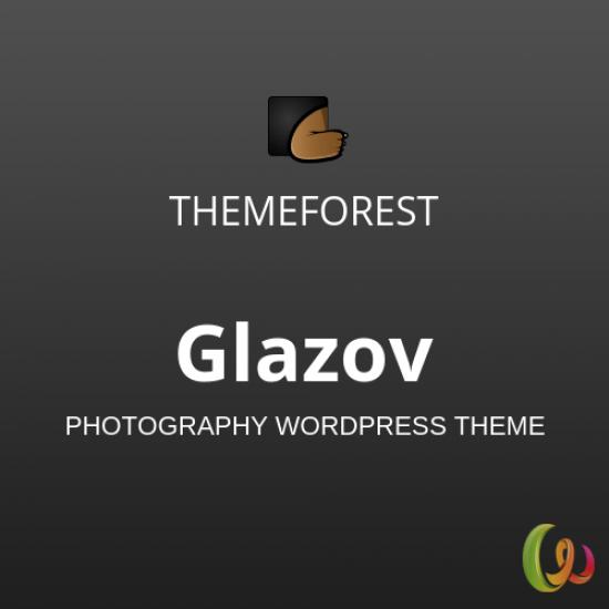 Glazov Photography WordPress Theme 1.2