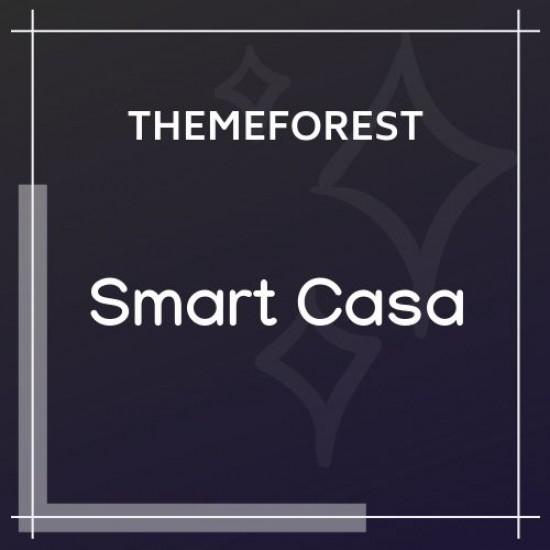 Smart Casa Home Automation Technologies WordPress Theme