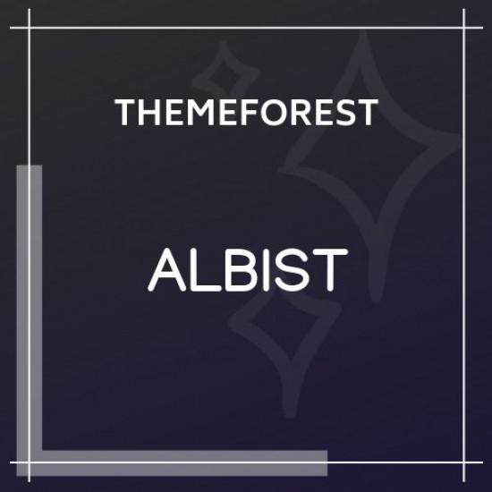 ALBIST Creative Multipurpose WordPress Theme