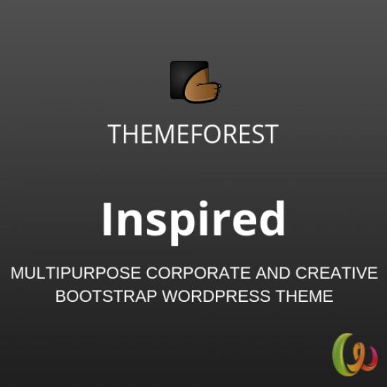 Inspired Multipurpose Corporate and Creative Bootstrap WordPress Theme 1.2.0
