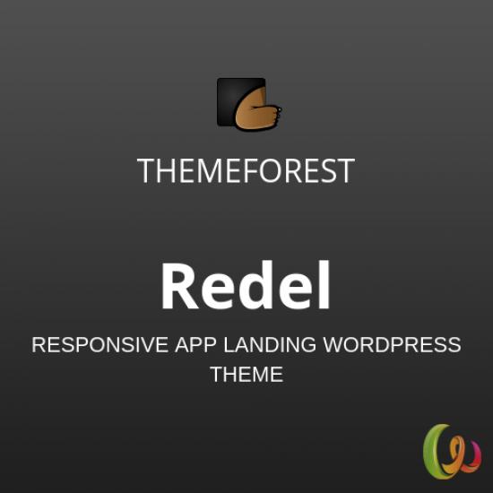 Redel Responsive App Landing WordPress Theme 1.5