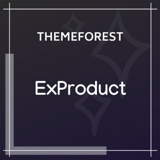 ExProduct Single Product theme 1.5.0