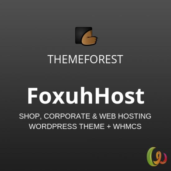FoxuhHost Web Hosting WordPress Theme