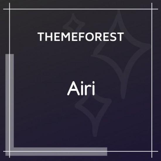 Airi Clean, Minimal WooCommerce Theme