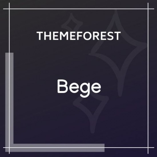 Bege Responsive WooCommerce WordPress Theme