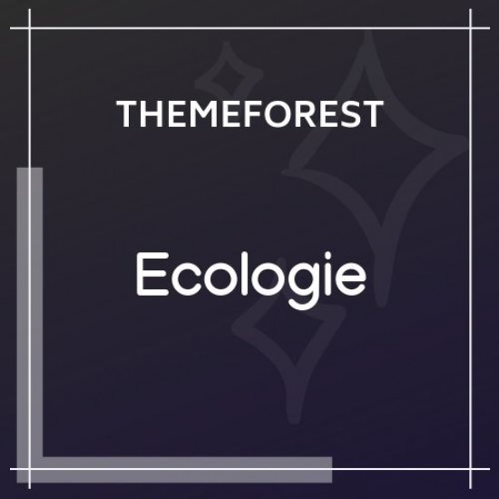 Ecologie Environmental Ecology WordPress Theme 1.0.2