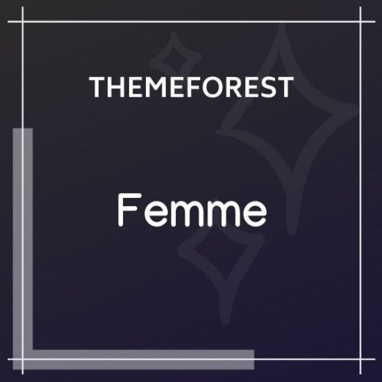 Femme An Online Magazine Fashion Blog Theme 1.2.2