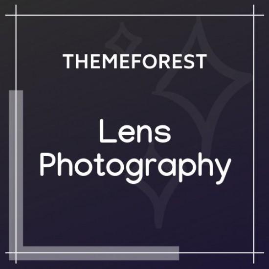 Lens Photography Photography Portfolio WP Theme 1.0.5