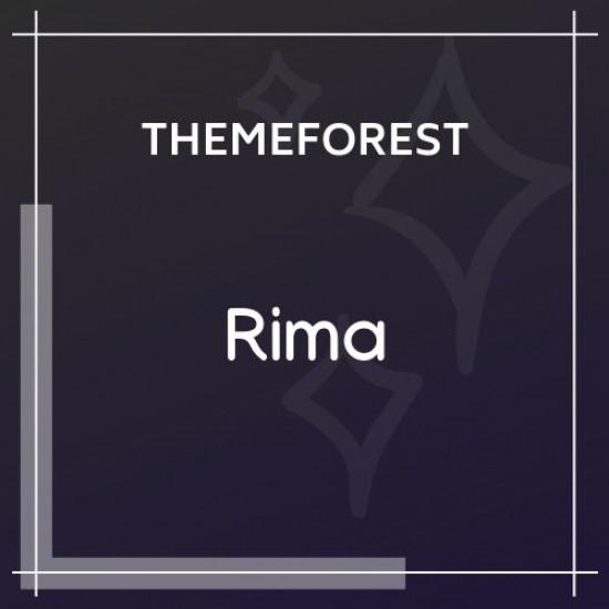 Rima Personal Blog WordPress Theme 1.8.0