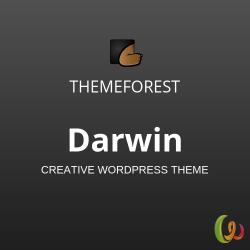 Darwin | Creative WordPress Theme 1.0.5