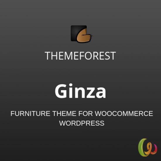 Ginza Furniture Theme for WooCommerce WordPress 1.0.1