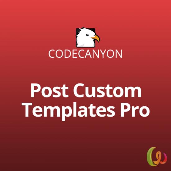 Post Custom Templates Pro WordPress plugin 1.9