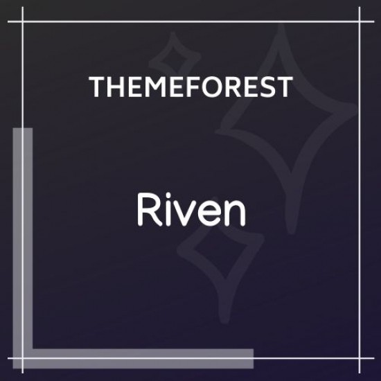 Riven App, Game, Single Product Landing Page 2.3.0